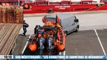 """SOS Méditerranée : """"les conditions de sauvetage se dégradent"""" (Sophie Beau)"""