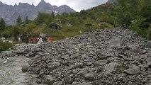 Coulée de boue sans conséquence à Vallouise-Pelvoux
