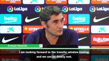 Valverde can't wait for end to Neymar transfer saga