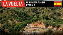 Resumen Flash - Etapa 7 | La Vuelta 19