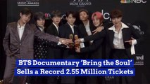 The BTS Documentary Is Wildly Popular