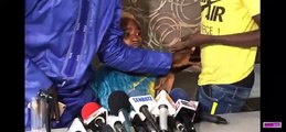 L'improbable conférence de presse d'ouzin Keita saboté