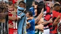 Confira o ranking de ataques entre os clubes de Série A na temporada