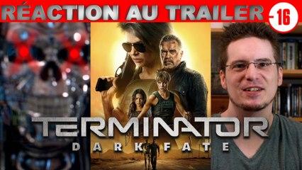 REACTION au TRAILER -16ans de Terminator - Dark Fesses