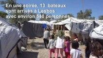 Grèce: le camp de Moria débordé par les nouvelles arrivées de migrants