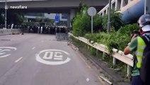 Hong Kong - Affrontements entre police et manifestants !