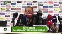 """Fatih Terim: """"Bugün Galatasaray adına var denilecek hiçbir şey yok"""""""