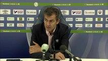 Conférence de presse de Rui Almeida après SMCaen / Le Havre AC