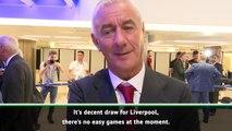 Premier League clubs react to Champions League draw