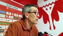 ASNL-Rodez (1-1) : la conférence de presse d'après-match de Jean-Louis Garcia