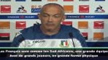 "O'Shea : ""La France est une grande équipe"""
