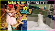 Nach Baliye 9 | Faisal Khan INJURED | Aly Goni Wish For His Speedy Recovery