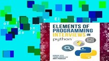 Full E-book  Elements of Programming Interviews in Python: The Insiders  Guide  For Kindle