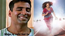 Akshay Kumar gives hilarious reply on Taapsee Pannu's tweet for Rashmi Rocket | FilmiBeat