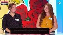 Les Z'amours : Une candidate blessée pendant l'amour par son compagnon (vidéo)