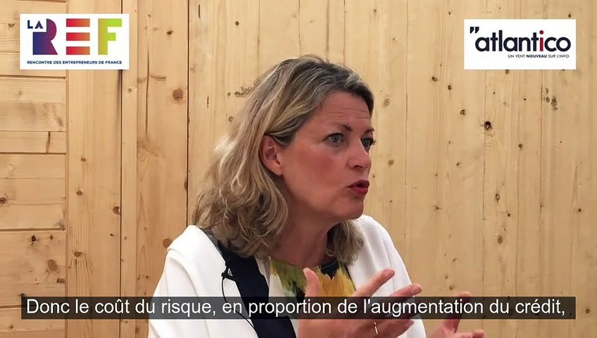 Atlantico - interview de Marie-Anne Barbat-Layani aux Rencontre des Entrepreneurs de France