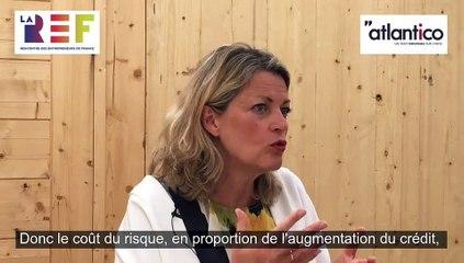 Atlantico - interview de Marie-Anne Barbat-Layani aux Rencontre des Entrepreneurs de France