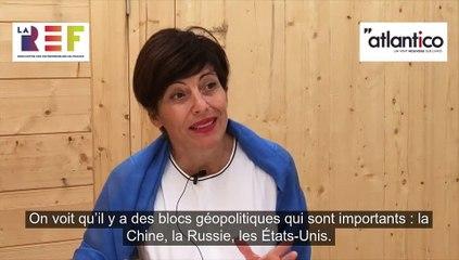 Atlantico - interview d'Anna Notarianni aux Rencontre des Entrepreneurs de France