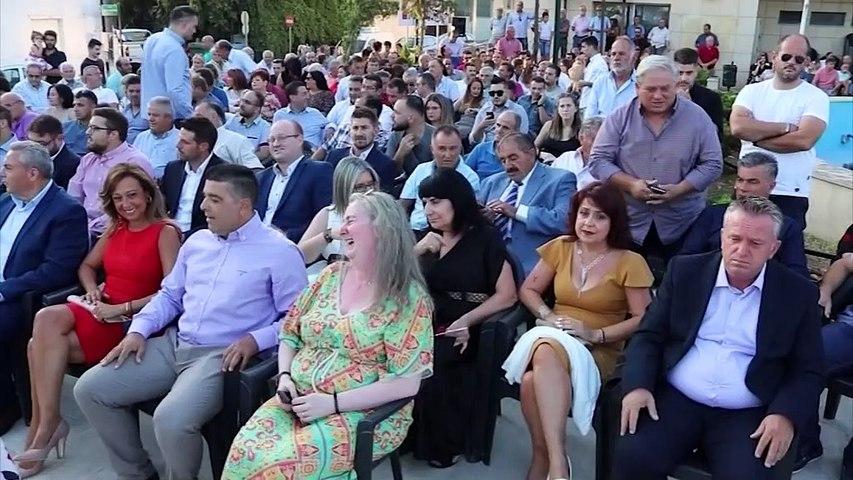 Ορκωμοσία Δήμου Διρφύων Μεσσαπίων στην Εύβοια