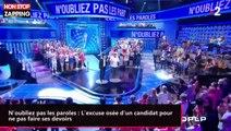 N'oubliez pas les paroles : L'excuse osée d'un candidat pour ne pas faire ses devoirs (vidéo)