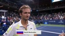 US Open : copieusement hué par le public, Daniil Medvedev lui dédie sa victoire