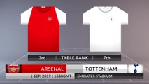 Match Preview: Arsenal vs Tottenham on 01/09/2019
