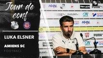 Conférence de presse d'avant Match, Luka Elsner ( Toulouse FC - Amiens SC )
