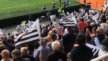 La foule pour le derby Lorient Guingamp