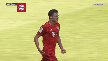 Bundesliga - Bayern Munich : Second poteau Pavard !