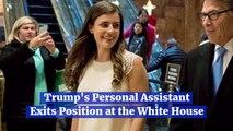 Trump Loses His Personal Assistant