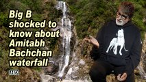 Big B shocked to know about Amitabh Bachchan waterfall