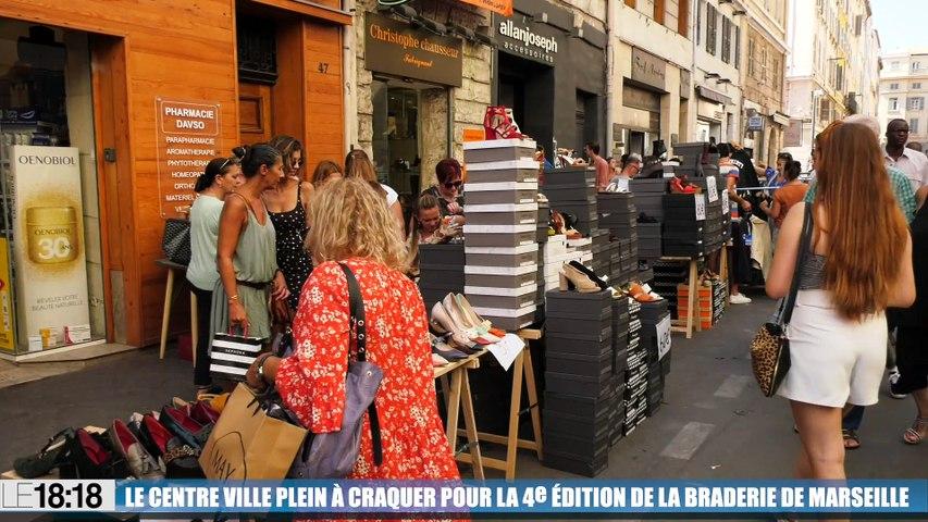 4e édition de la braderie des commerces du centre-ville de Marseille