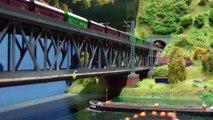 Superbe pont routier et ferroviaire à deux niveaux pour les trains miniatures à l'échelle Z - Une vidéo de Pilentum Télévision - Modélisme ferroviaire, trains miniatures, maquettisme et chemin de fer