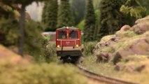 La magie du décor de fond pour le modélisme ferroviaire à l'échelle H0 - Une vidéo de Pilentum Télévision - Modélisme ferroviaire, trains miniatures, maquettisme et chemin de fer
