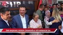 İstanbul Büyükşehir Belediye Başkanı Ekrem İmamoğlu Diyarbakır'da