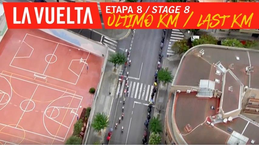 Last kilometer - Stage 8 | La Vuelta 19