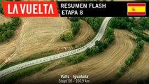 Resumen Flash - Etapa 8 | La Vuelta 19