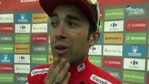 """Tour d'Espagne 2019 - Nicolas Edet, en rouge et leader : """"C'est énorme, ça marque une carrière !"""""""