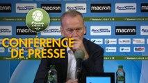 Conférence de presse AJ Auxerre - AC Ajaccio (3-1) : Jean-Marc FURLAN (AJA) - Olivier PANTALONI (ACA) - 2019/2020