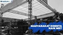 Masyarakat Diminta Naik MRT Menuju Jakarta Muharram Festival
