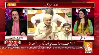 Shahid Masood Response On Sheikh Rasheed's Statement About PMLN 2..