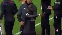 Regardez l'action de Mohamed Salah qui a énervé Sadio Mané