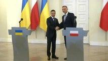 Ukraine-Pologne : rencontre entre les deux chefs d'Etat à Varsovie