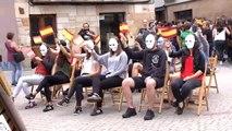 La localidad navarra de Alsasua celebra su 'Ospa Eguna' sin incidentes
