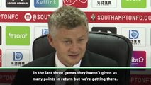 Solskjaer urges United to be more clinical and ruthless
