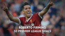 Firmino becomes first Brazilian to score 50 Premier League goals