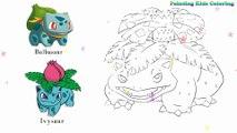 Coloration Grenouille - Venusaur Pokémon   Peindre pour les jeunes enfants et dessiner pour les enfants