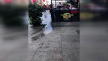 Taksim'de köpek saldırısı: 2 turist yaralandı