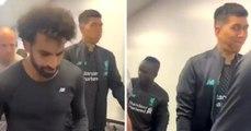 La réaction magique de Firmino dans le tunnel après le conflit entre Salah et Mané