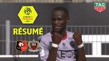 Stade Rennais FC - OGC Nice (1-2)  - Résumé - (SRFC-OGCN) / 2019-20